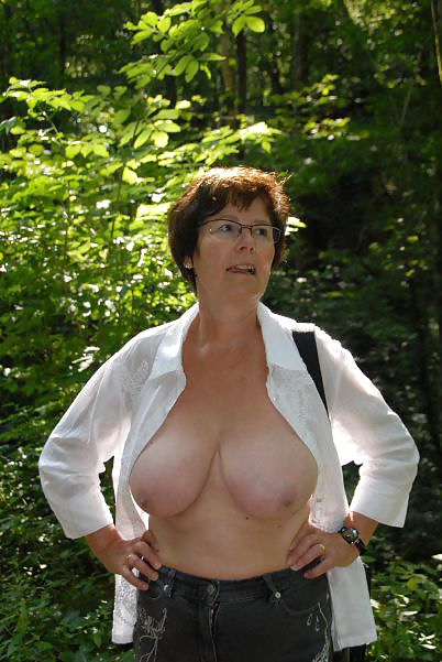 Busty german mature
